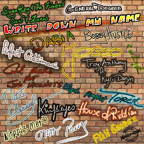 Write Down My Name by Various Artists
