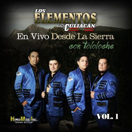 Desde la Sierra Con Tololoche (En Vivo), Vol. 1 by Los Elementos de Culiacan