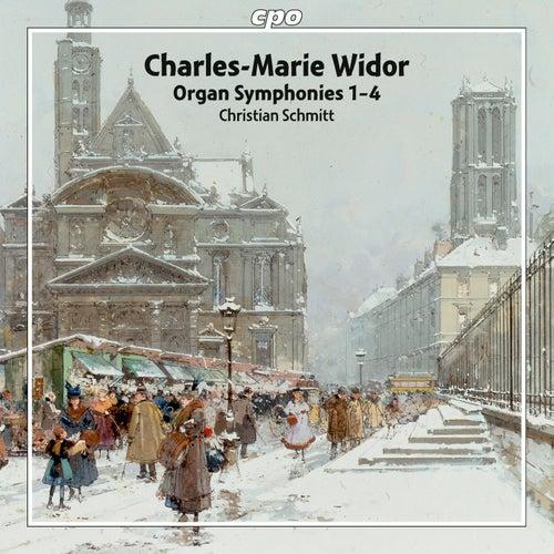Widor: Organ Symphonies 1-4 de Christian Schmitt