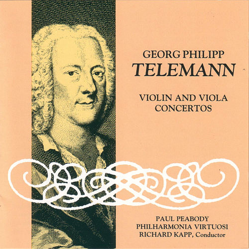 Telemann Violin and Viola Concertos de Georg Philipp Telemann