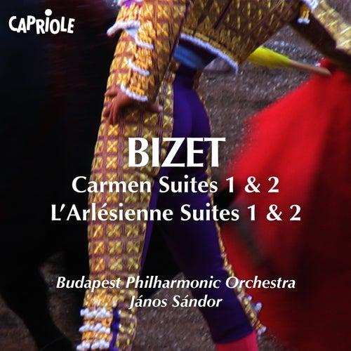 Bizet: Carmen Suites Nos. 1 & 2 - L'Arlésienne Suites Nos. 1 & 2 by Budapest Philharmonic Orchestra