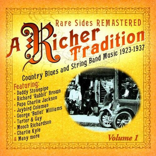 A Richer Tradition - Blues+String Band 1923-1937 Vol.1 de Various Artists