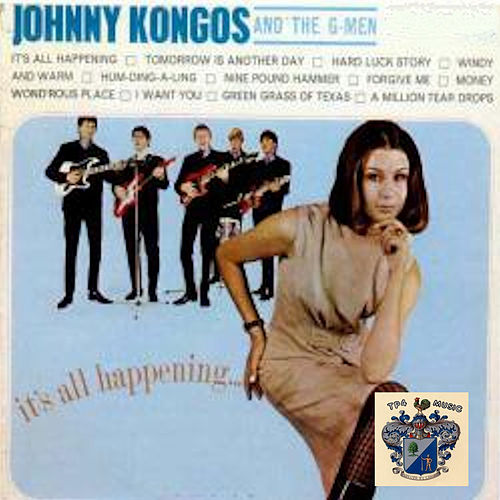 It's All Happening by Johnny Kongos and the G-Men