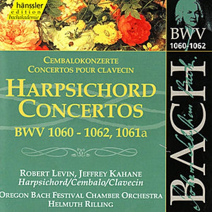 Johann Sebastian Bach: Harpsichord Concertos, BWV 1060-1062, 1061a by Oregon Bach Festival Chamber Orchestra