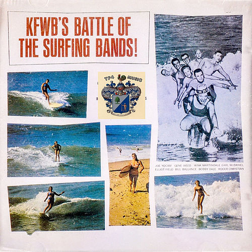 KFWB's Battle of the Surfing Bands by Various Artists