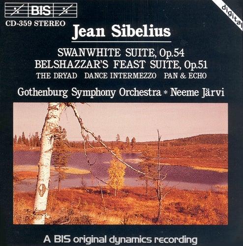 SIBELIUS: Swanwhite Suite / Belshazzar's Feast Suite / The Dryad / Dance Intermezzo / Pan and Echo by Gothenburg Symphony Orchestra