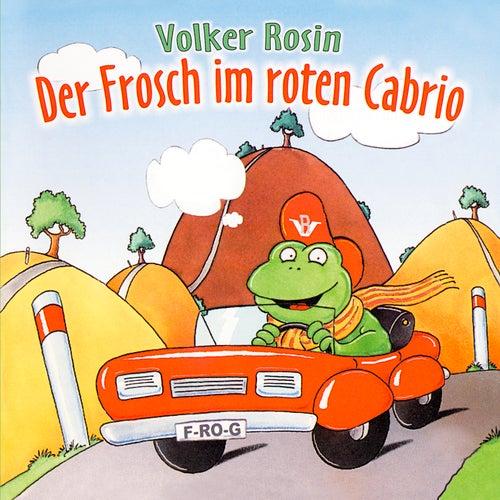 Der Frosch im roten Cabrio von Volker Rosin