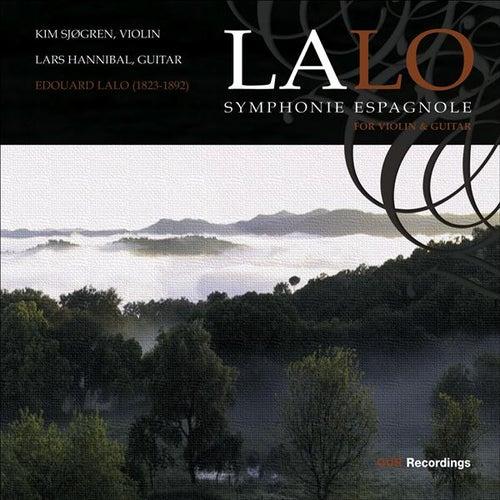 LALO: Symphonie espagnole / Fantasie novergienne (for violin and guitar) di Kim Sjogren