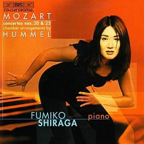 MOZART: Piano Concertos arranged by Hummel by Fumiko Shiraga