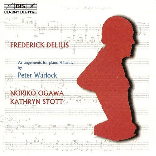 DELIUS - Arrangements for piano 4 hands by Peter Warlock by Kathryn Stott