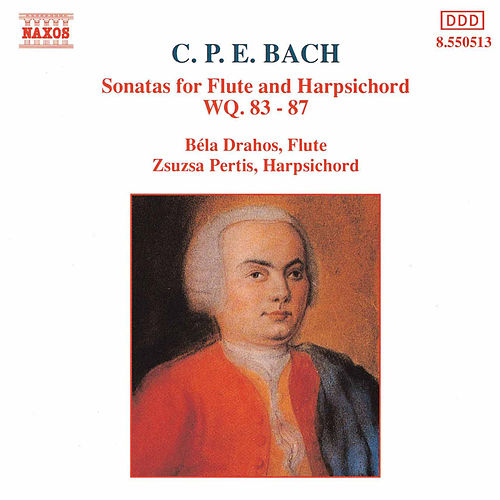 Sonatas for Flute and Harpsichord von Carl Philipp Emanuel Bach