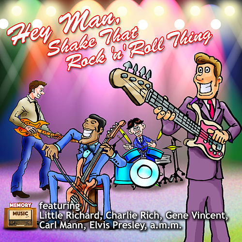 Hey Man, Shake That Rock 'N' Roll Thing by Various Artists