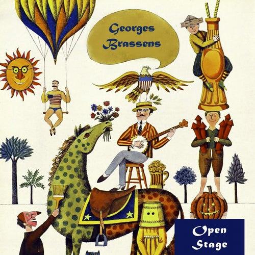 Open Stage de Georges Brassens