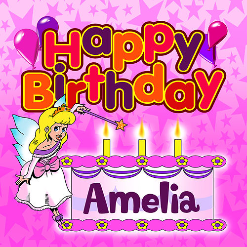 Happy Birthday Amelia von The Birthday Bunch