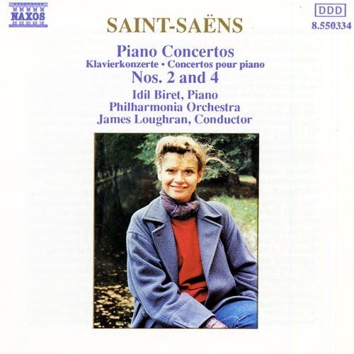 Piano Concertos Nos. 2 and 4 de Camille Saint-Saëns