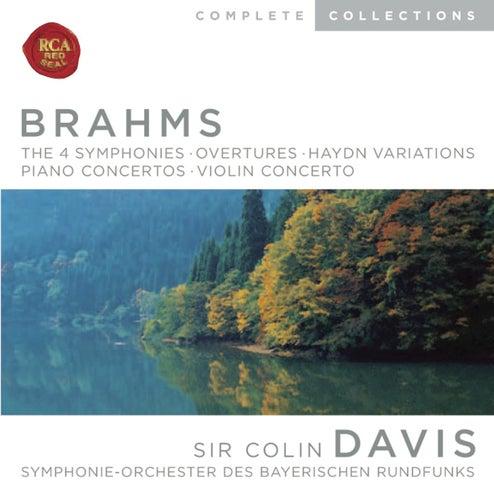 Brahms: Symphonies; Overtures; Haydn Variations; Piano Concertos; Violin Concerto by Sir Colin Davis