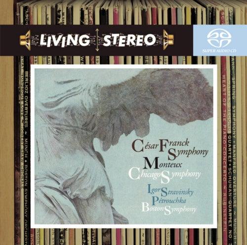 Franck: Symphony in D Minor; Stravinsky: Petrouchka de Pierre Monteux