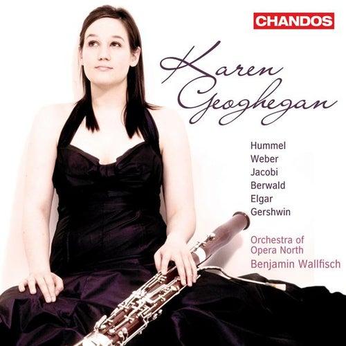 Bassoon Recital: Geoghegan, Karen - HUMMEL, J. / WEBER, C. / BERWALD, F. / JACOBI, C. / ELGAR, E. / GERSHWIN, G. by Karen Geoghegan