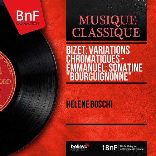 Bizet: Variations chromatiques - Emmanuel: Sonatine
