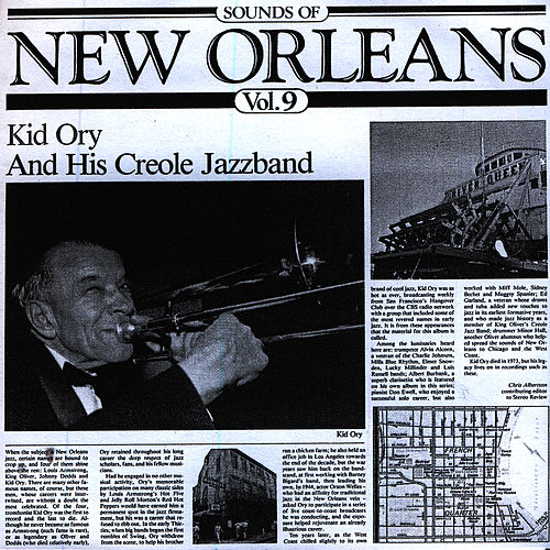 Sounds Of New Orleans Vol. 9 by Kid Ory