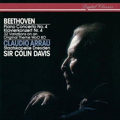Beethoven: Piano Concerto No. 4; 32 Variations On An Original Theme by Claudio Arrau