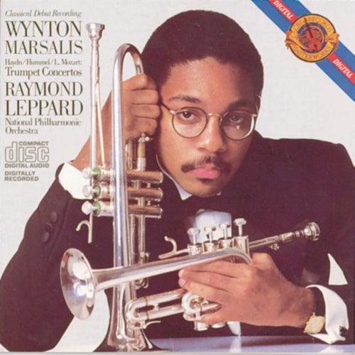 Haydn, L. Mozart, Hummel: Trumpet Concertos by Wynton Marsalis, National Philharmonic Orchestra, Raymond Leppard