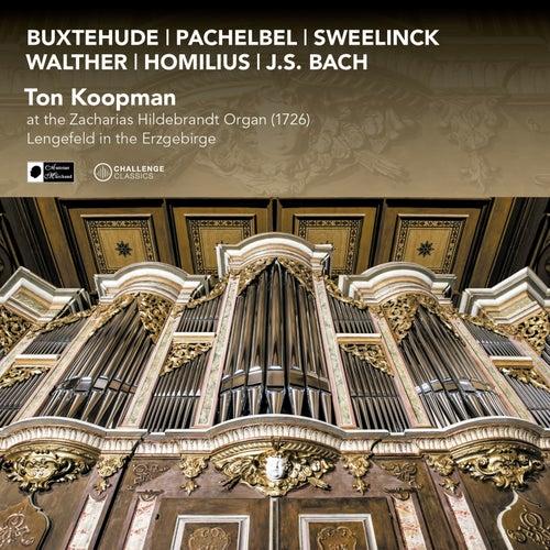 Ton Koopman at the Zacharias Hildebrandt Organ (1726) In Lengefeld in the Erzgebirge by Ton Koopman