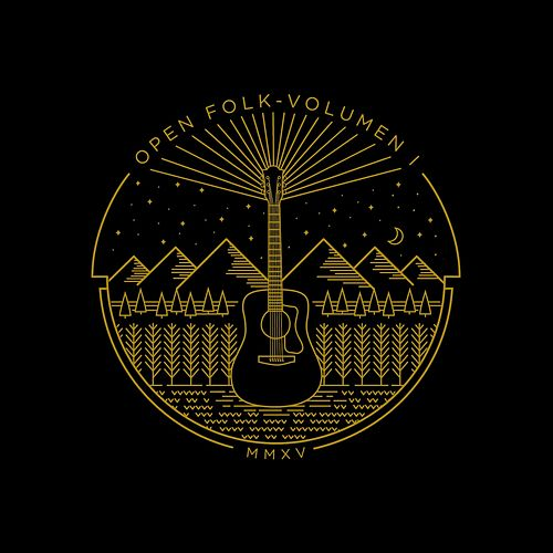 Open Folk Volumen I de Various Artists