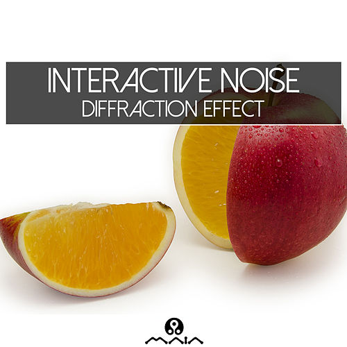 Diffraction Effect by Interactive Noise