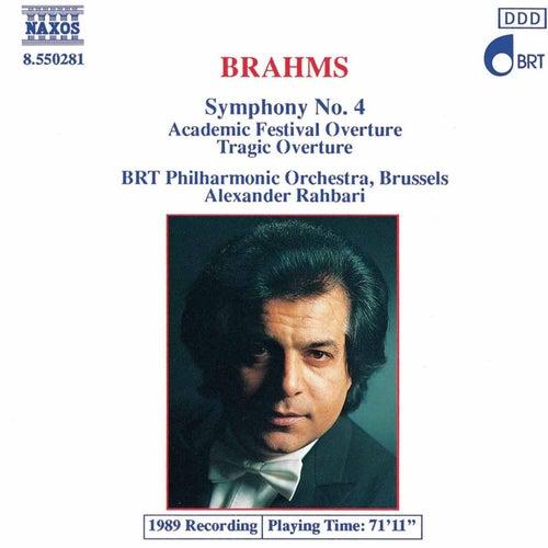 Symphony No. 4 / Overtures de Johannes Brahms