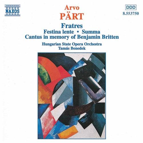Fratres by Arvo Pärt