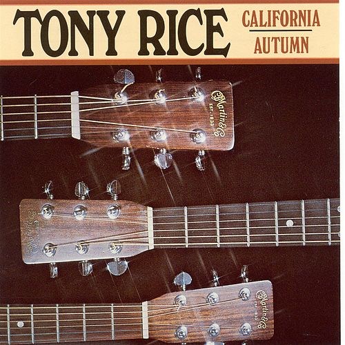 California Autumn de Tony Rice