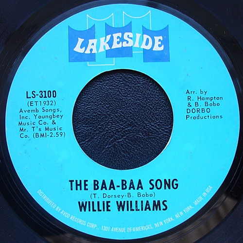 The Baa Baa Song / Psyched Out by Willie Williams