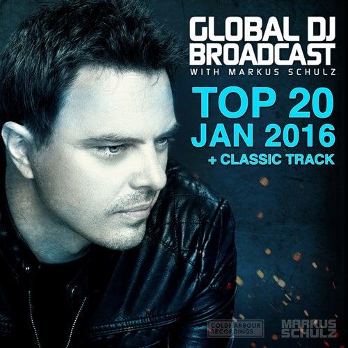 Global DJ Broadcast - Top 20 January 2016 de Various Artists