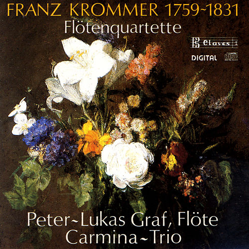 Franz Krommer: Three Flute Quartets by Peter-Lukas Graf
