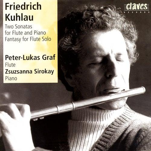 Friedrich Kuhlau/Flute Sonatas by Peter-Lukas Graf