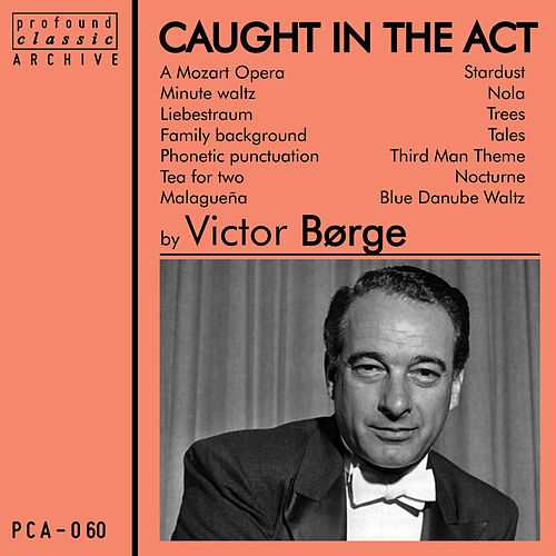 Victor Borge Caught in the Act von Victor Borge