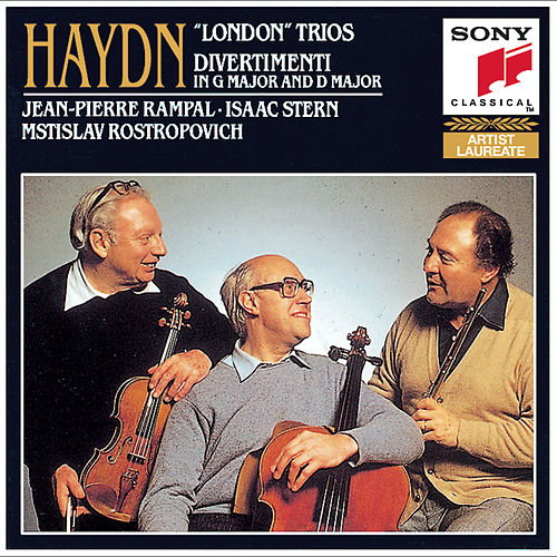 Haydn: London Trios by Mstislav Rostropovich