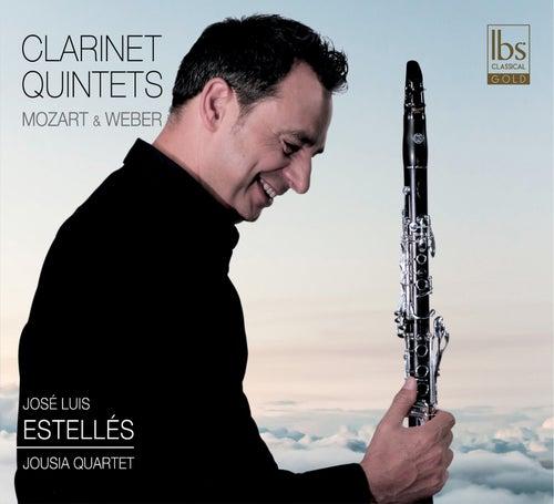 Mozart & Weber: Clarinet Quintets de José Luis Estellés