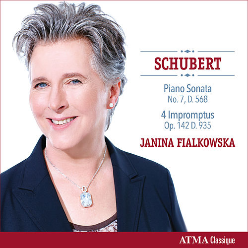 Schubert: Piano Sonata No. 7 in E-Flat Major & 4 Impromptus by Janina Fialkowska