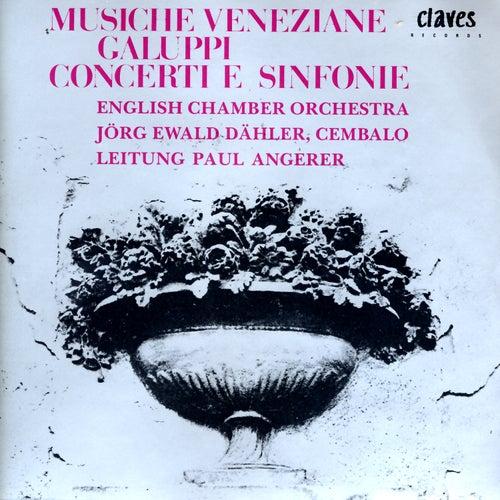 Musiche Veneziane: Baldassare Galuppi - Concerti E Sinfonie by Jörg Ewald Dähler