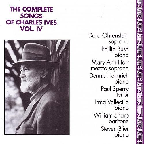 Complete Songs of Charles Ives, Vol. 4 de Various Artists