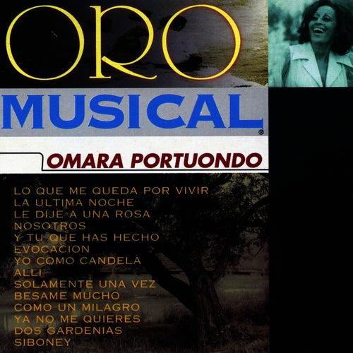 Oro Musical de Omara Portuondo