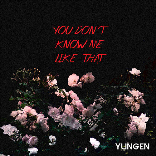 You Don't Know Me Like That de Yungen