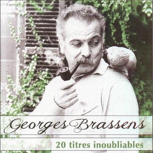 Brassens: 20 titres inoubliables de Georges Brassens