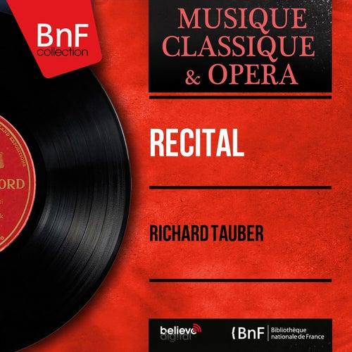 Récital (Mono Version) by Richard Tauber