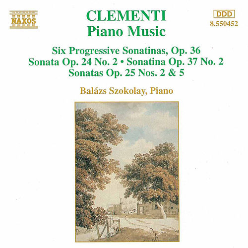 Piano Music by Muzio Clementi