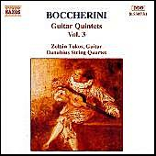Guitar Quintets Vol. 3 (unpublished) by Luigi Boccherini