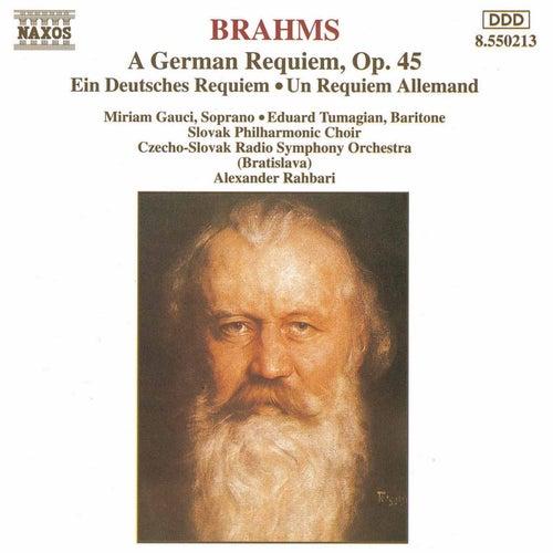 A German Requiem de Johannes Brahms