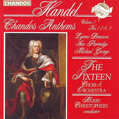 HANDEL: Chandos Anthems, Vol. 1 von Ian Partridge